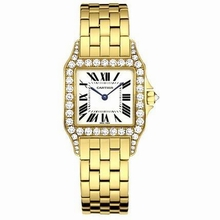 Cartier Santos Demoiselle WF9002Y7 Midsize Watch