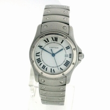 Cartier Santos Ronde Ladies Watch