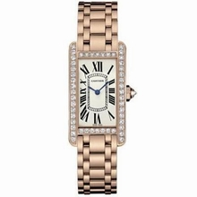Cartier Tank Americaine WB7079M5 Ladies Watch