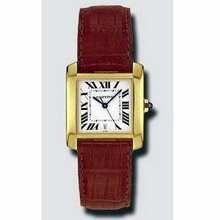 Cartier Tank Francaise W5000156 Mens Watch
