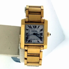 Cartier Tank Francaise W50001R2 Mens Watch