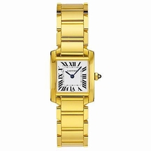 Cartier Tank Francaise W50002N2 Ladies Watch