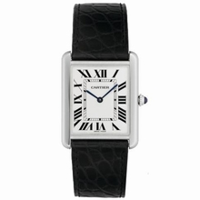 Cartier Tank Solo W1018355 Mens Watch