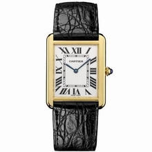 Cartier Tank Solo W1018855 Mens Watch