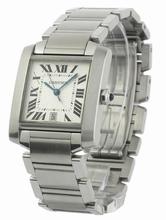 Cartier Tank W51002Q3 Mens Watch