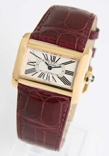 Cartier Tank W6300356 Mens Watch