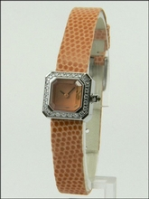 Corum Sugar Cube 137-428-47-0124 EB34 Ladies Watch