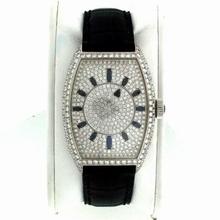 Franck Muller Cintree Curvex 5850D Diamond Dial Watch
