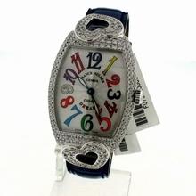 Franck Muller Color Dreams Coeur 7502 QZ D White Dial Watch