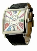 Franck Muller Master Square 6000 K SC CODR Mens Watch