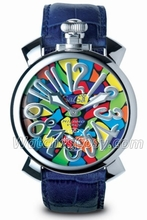 GaGa Milano Manuale 48MM 5010 MOSAICO 1 Men's Watch