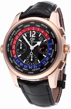 Girard Perregaux Worldwide Time Control 49800-52-654-BA6A Mens Watch