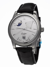 Glashutte PanoMaticReserve 39-44-04-12-04 Mens Watch