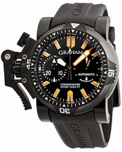 Graham Chronofighter Oversize Diver and Diver Date 20VEZ.B02B.K10B Mens Watch