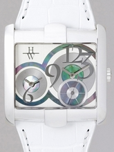 Harry Winston Excenter Collection 350.LQTZWL.W3 Mens Watch