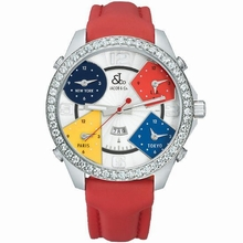 Jacob & Co. Five Time Zone - Large JC-1 Quartz Watch