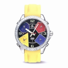 Jacob & Co. Five Time Zone - Large JC-11 Black Dial Watch