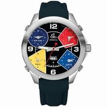 Jacob & Co. Five Time Zone - Large JC-11 Mens Watch