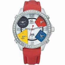 Jacob & Co. Five Time Zone - Large JC-13 Quartz Watch