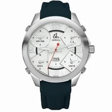 Jacob & Co. Five Time Zone - Large JC-3 Mens Watch