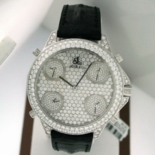 Jacob & Co. Five Time Zone - Large Royal Pave Mens Watch