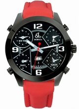 Jacob & Co. H24 Five Time Zone Automatic JC-2BC Mens Watch