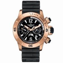 Jaeger LeCoultre Master Compressor Chronograph 186.26.40 Mens Watch