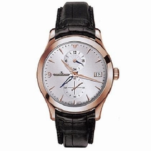 Jaeger LeCoultre Master Dual Time 162.24.30 Mens Watch