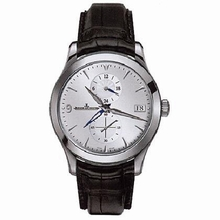 Jaeger LeCoultre Master Dual Time 162.84.30 Mens Watch