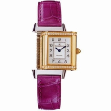 Jaeger LeCoultre Reverso - Ladies Duetto Diamond Bezel Watch