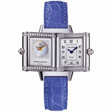 Jaeger LeCoultre Reverso - Ladies Duetto Stainless Steel Case Watch