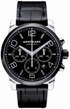 Montblanc Time Walker 102365 Black Dial Watch
