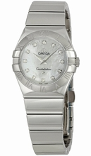 Omega Constellation Ladies OM12310276055002 Ladies Watch
