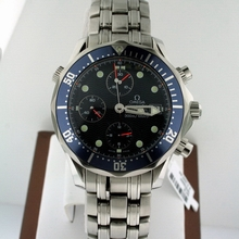 Omega Seamaster 2225.80.00 Blue Dial Watch