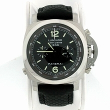 Panerai Luminor Chronograph PAM00213 Beige Band Watch