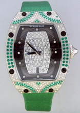 Richard Mille RM 006 RM007 Green Band Watch