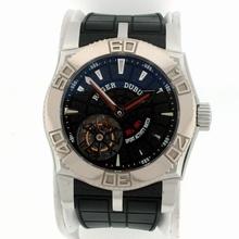 Roger Dubuis Easy Diver Tourbillon Black Dial Watch
