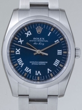 Rolex Airking 114200BLRO Mens Watch
