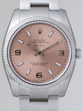 Rolex Airking 114234 Pink Dial Watch