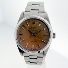 Rolex Airking 14000 Stainless Steel Band Watch
