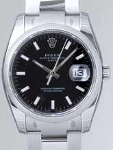 Rolex Date Mens 115200BKSO Mens Watch