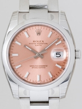 Rolex Date Mens 115200PSO Automatic Watch