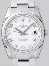 Rolex Date Mens 115234WDO Mens Watch