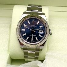 Rolex Datejust II 116334 Blue Dial Watch