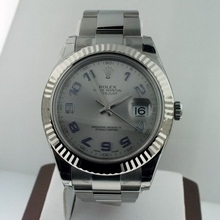 Rolex Datejust II 116334 Silver Dial Watch