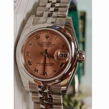 Rolex Datejust Ladies 179160 Pink Dial Watch