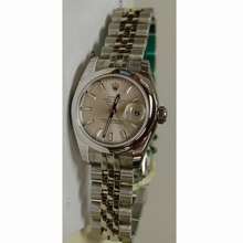 Rolex Datejust Ladies 179160 Silver Dial Watch