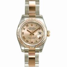 Rolex Datejust Ladies 179171 Stainless Steel Band Watch