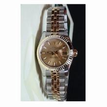 Rolex Datejust Ladies 179173 Beige Dial Watch
