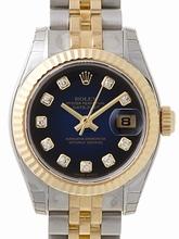 Rolex Datejust Ladies 179173 Stainless Steel Case Watch